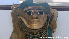 Ägypten Entdeckung Grab Mumie Grabkammer