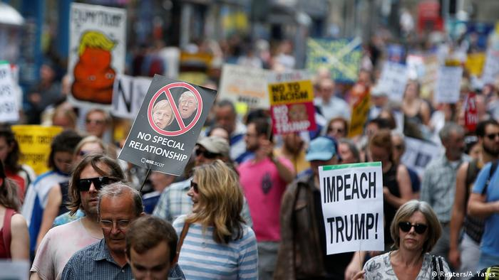 Schottland Anti-Trump Protest in Edinburgh (Reuters/A. Yates)
