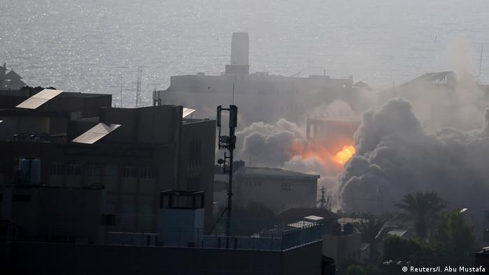 Israeli army launches punishing airstrikes against Hamas militants in 'largest daytime attack' since 2014