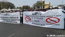 Angola Demonstration in Luanda