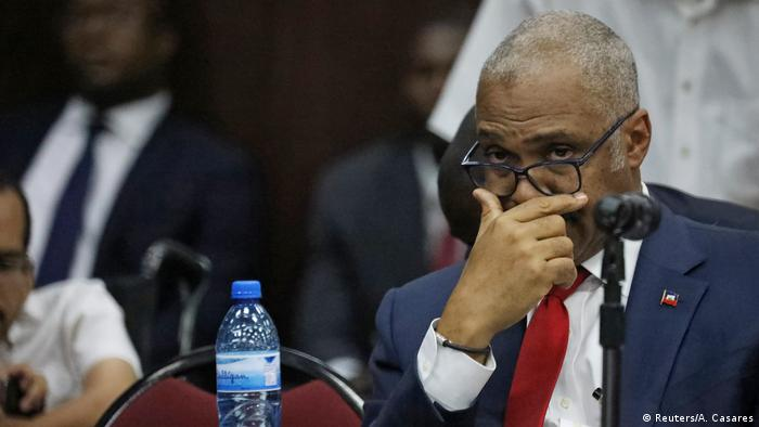 Haiti Port-au-Prince Parlament Premierminister Jack Guy Lafontant