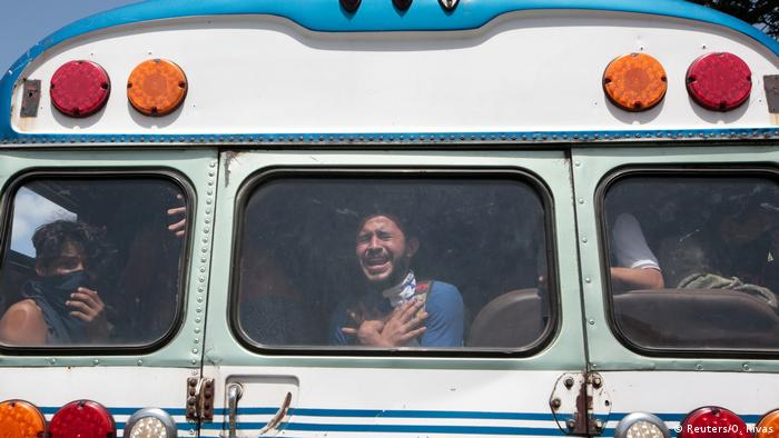 Nicaragua Rückkehr Studenten UNAN (Reuters/O. Rivas)