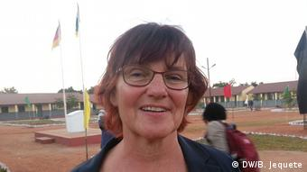 Josina Machel Sekundarschule in Mosambik Agathe Venedey-Grenda (DW/B. Jequete)