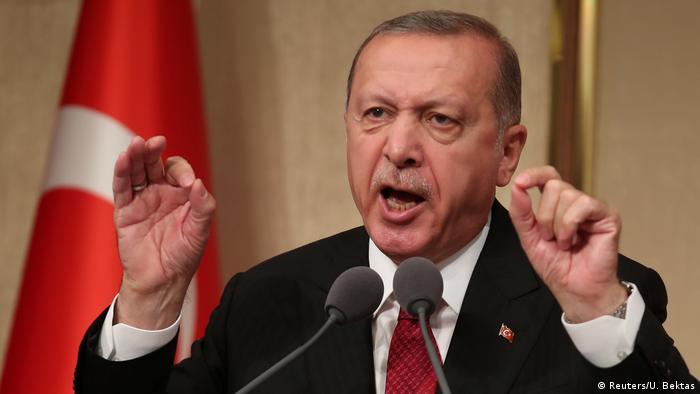 Türkei 1. Jahrestag nach Putschversuch Präsident Erdogan (Reuters/U. Bektas)