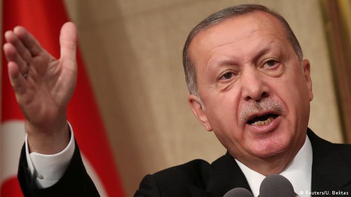 Türkei 1. Jahrestag nach Putschversuch Präsident Erdogan