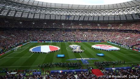 Russland WM 2018 Frankreich gegen Kroatien (Reuters/M. Dalder)