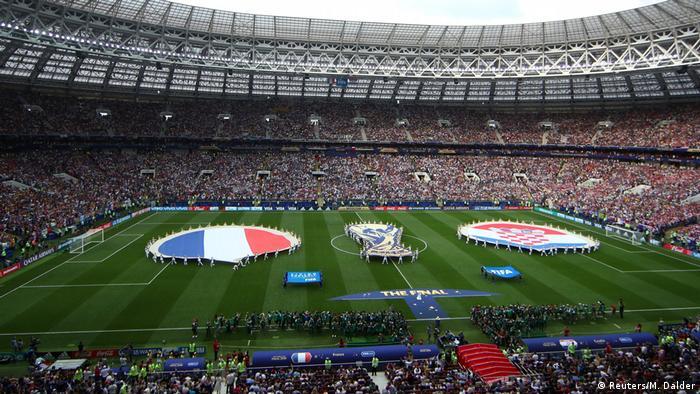 Nedjelja, 15. srpnja 2018., 17:00. Sve je spremno na prepunom stadionu u Moskvi. Hrvatska i francuska zastava pred 78.000 gledatelja. Velika pozornica za veliki nogomet.