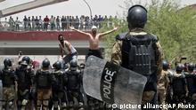 Proteste gegen Arbeitslosigkeit und schlechte Lebensbedingungen im Irak