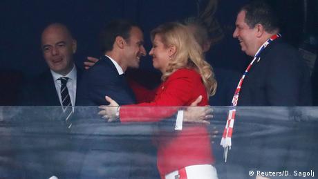 Russland WM 2018 Frankreich gegen Kroatien (Reuters/D. Sagolj)