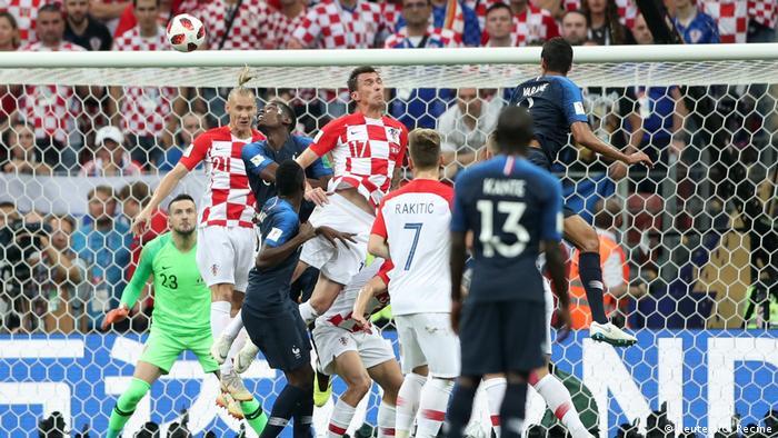 Russland WM 2018 Frankreich gegen Kroatien