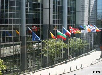 Sediul din Bruxelles al PE