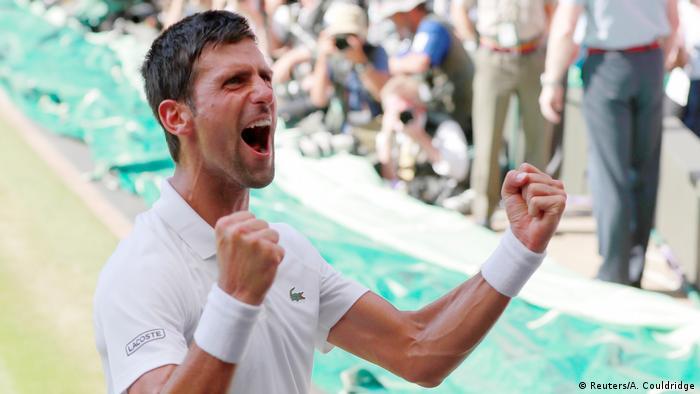 Tennis Wimbledon 2018 Novak Djokovic