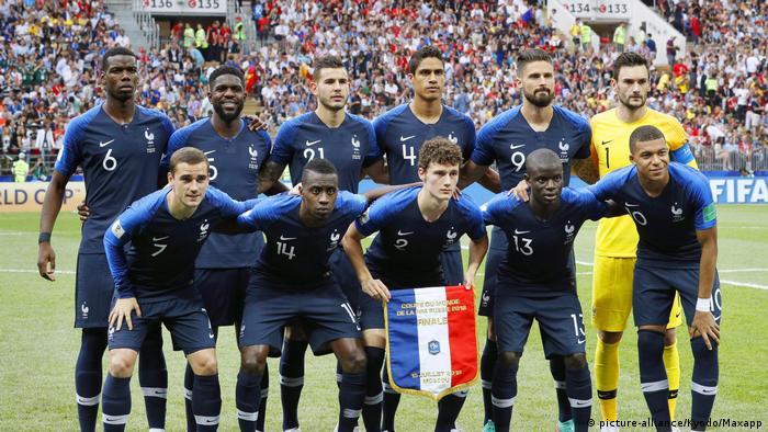 FIFA Russland WM 2018 Frankreich - Kroatien