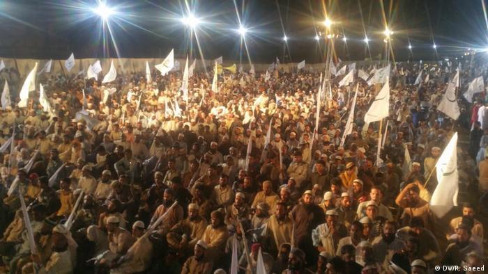 Pakistan MMA Wahlkampf in Karachi