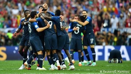 Russland WM 2018 Frankreich gegen Kroatien (Reuters/D.Martinez)