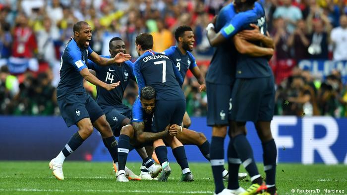 Russland WM 2018 Frankreich gegen Kroatien (Reuters/D. Martinez)