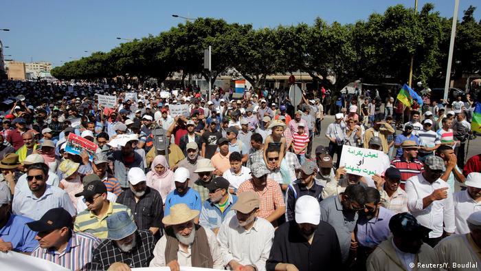 Marokko Proteste in Rabat (Reuters/Y. Boudlal)