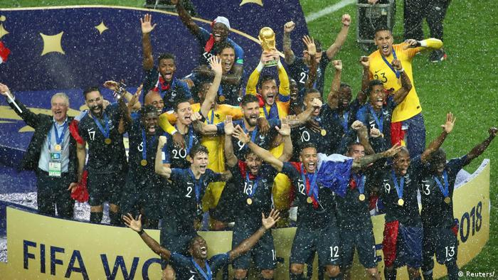 World Cup Champions France (Reuters)