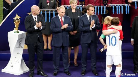 Russland WM 2018 Frankreich gegen Kroatien (Reuters/)