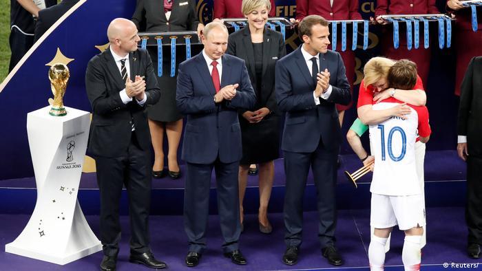 Luka Modrić je najbolji. Službeno. Najbolji igrač Svjetskog nogometnog prvenstva u Rusiji. Malo šlaga na kraju.