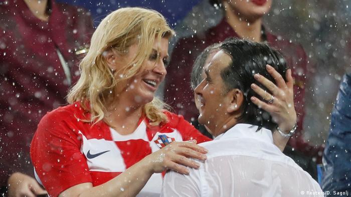 To je izborniku Daliću na kiši u Moskvi sigurno rekla i hrvatska predsjednica Kolinda Grabar-Kitarović.