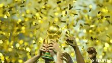 Russland WM 2018 Frankreich gegen Kroatien | Pokal