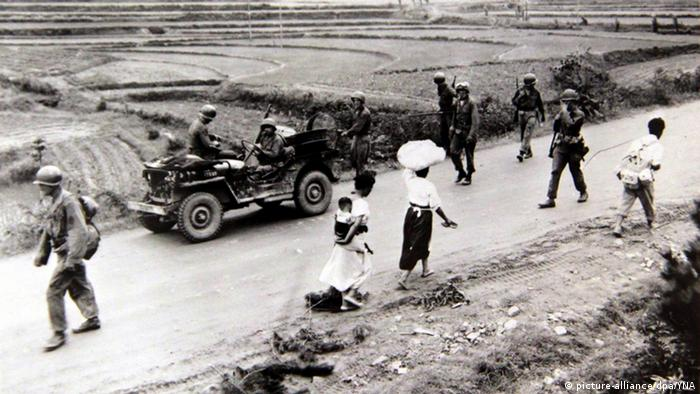 Koreakrieg 1950 (picture-alliance/dpa/YNA)