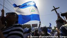 Nicaragua Proteste und Demonstrationen in Managua (picture-alliance/AP Photo/A. Zuniga)
