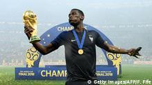 WM Finale Frankreich Pogba Pokal