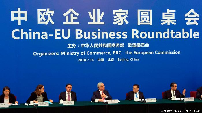 Peking EU China Business Roundtable (Getty Images/AFP/N. Guan)