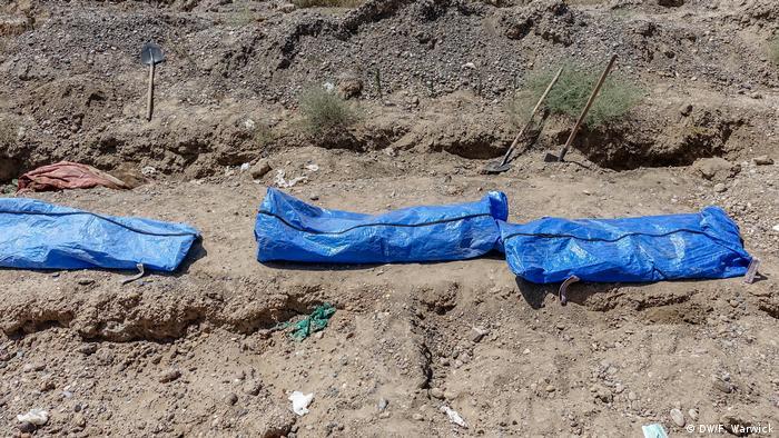 Body bags (DW/F. Warwick)