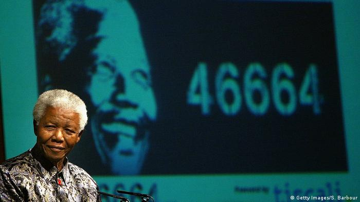 London Mandela Rede 46664 Kampagne (Getty Images/S. Barbour)