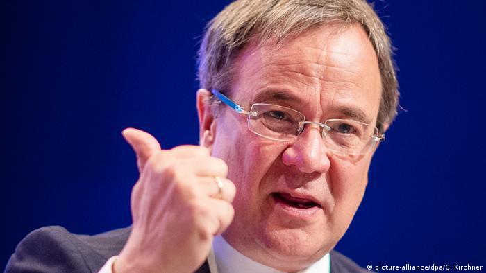 Deutschland Armin Lschet beim CDU-Landesparteitag Nordrhein-Westfalen (picture-alliance/dpa/G. Kirchner)
