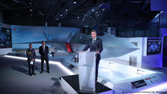 Farnborough Airshow Wiliamson Vorstellung Kampfjet Tempest (picture-alliance/empics/A. Mattews)
