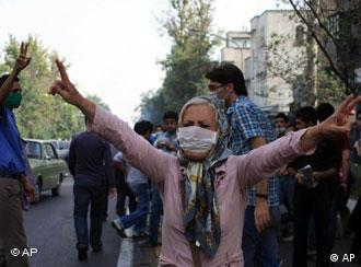 تظاهرات مردم در روز پنجشنبه ۱۸ تیر ۱۳۸۸ در تهران