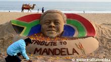 Tribut für Nelson Mandela