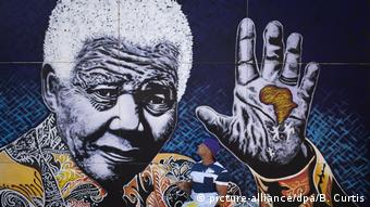 Mchoro wa hayati Nelson Mandela