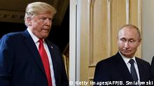 Finnland Trump Putin Gipfeltreffen in Helsinki