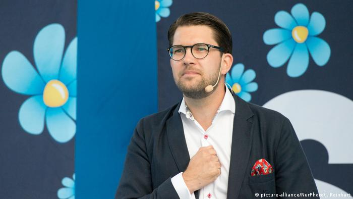 Sweden Democrats leader Jimmie Akesson
