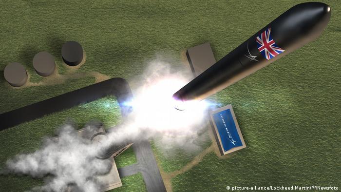 Weltraumbahnhof soll in Schottland entstehen (picture-alliance/Lockheed Martin/PRNewsfoto)