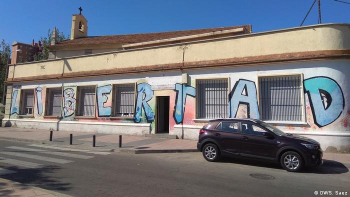 The San Carlos Borromeo parish building in Madrid