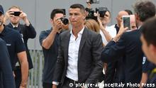 Christiano Ronaldo - Ankunft (picture-alliance/Italy Photo Press)
