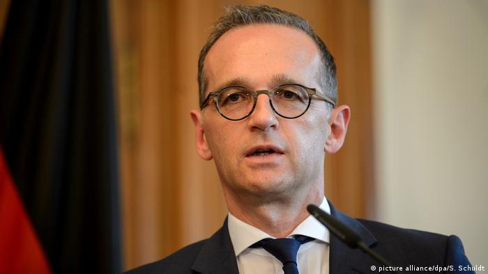 Deutschland Aussenminister Heiko Maas (picture alliance/dpa/S. Schuldt)