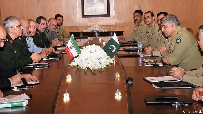 دیدار مقامات نظامی ایران و پاکستان