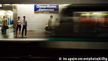 Paris Metro-Station Champs-Elysées Clemenceau