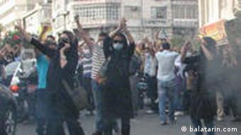 Demonstration in Teheran (Foto: Balatarin.com)