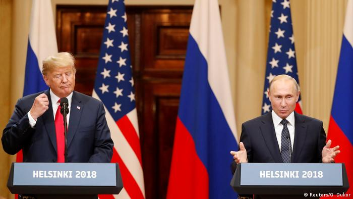 Finnland Helsinki PK Treffen Trump Putin (Reuters/G. Dukor)