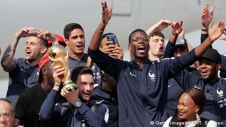 Свято в Парижі: сотні тисяч французів вітали свою збірну з футболу