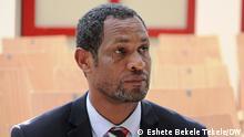 Dejene Taffa OFC General Secretary Deutschland Äthiopiens Oromo federalist congress. Rechte: Eshete Bekele Tekele/DW