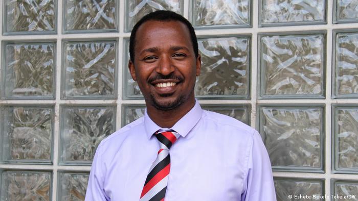 Deutschland Äthiopiens Oromo federalist congress | Addisu Bulala (Eshete Bekele Tekele/DW)